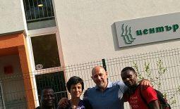 Посрещнахме първите си гости от Африка