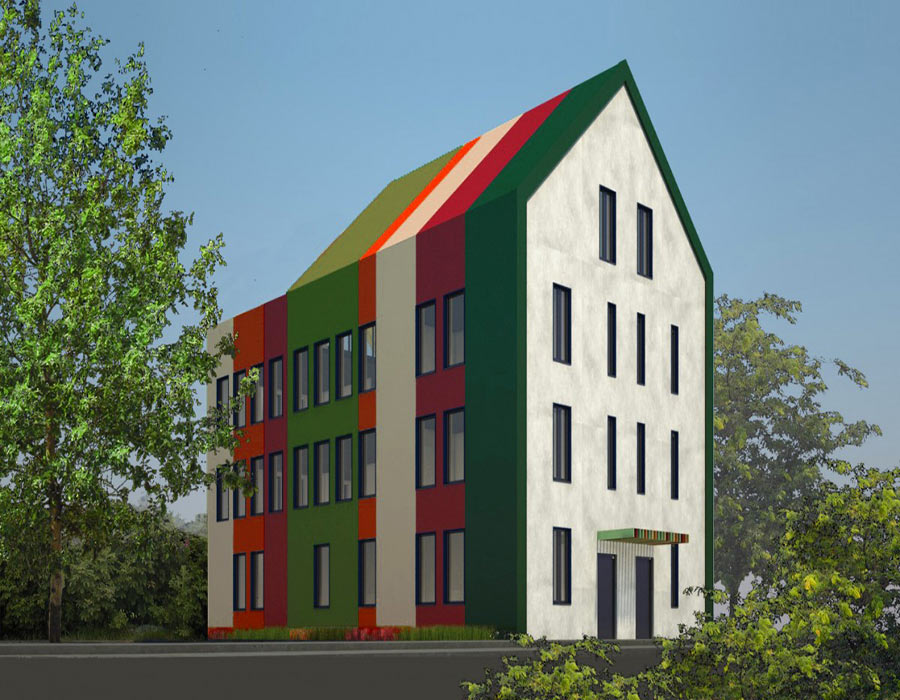Building a new center in the Fakulteta neighbourhood